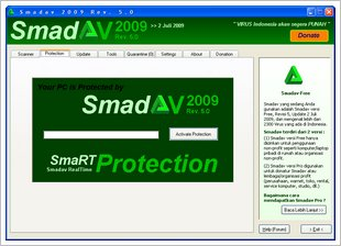 Free Download Antivirus Smadav 2009 Terbaru Gratis | Rev 7.1 7 6.4 6.3 6 5.2 4.3