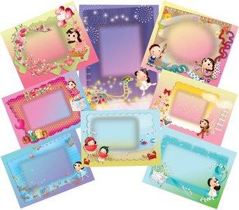 Frame Foto Photoshop untuk anak