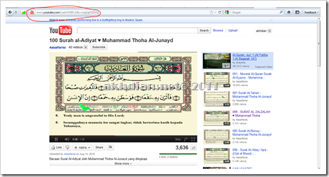Copy Alamat Video