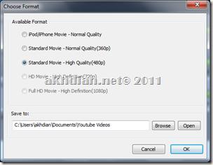 Pilih Format  File