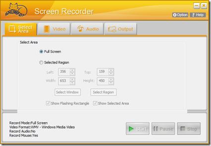 SnowFox Screen Recording Tool