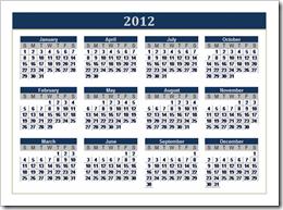 Kalender 2012 Gratis