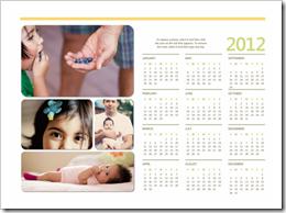 Kalender 2012 Ms Word